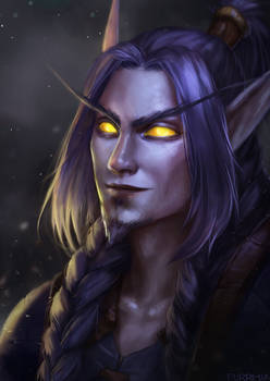 Blood elf WoW commission
