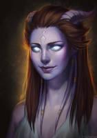Lorela [WoW Portrait Commission]