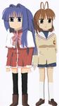 Nayuki Minase and Nagisa Furukawa by ThomasZoey3000
