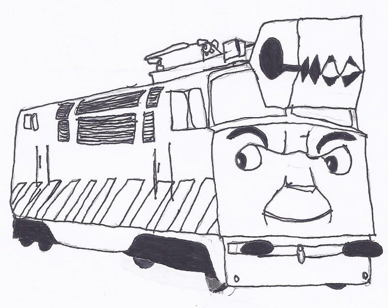 diesel 10 coloring pages - photo#17