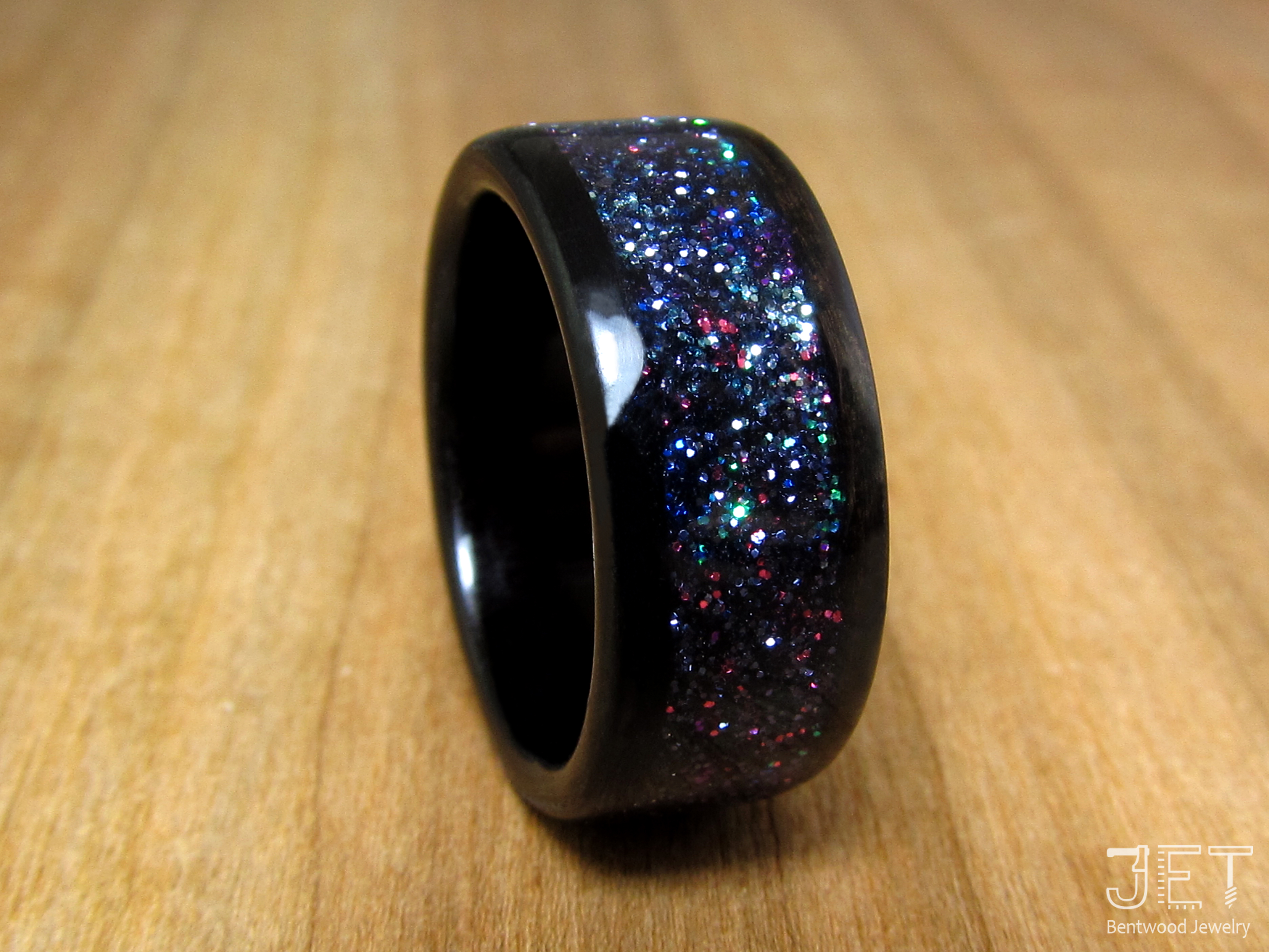 Galaxy Bentwood Ring 2 by SycoClown