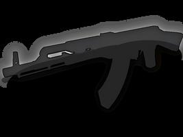 AK47 Silhoutte by YoLoL