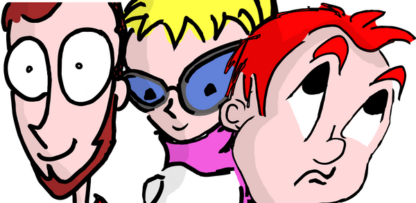 Three Persons by YoLoL