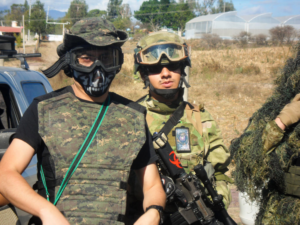 how to make an airsoft team