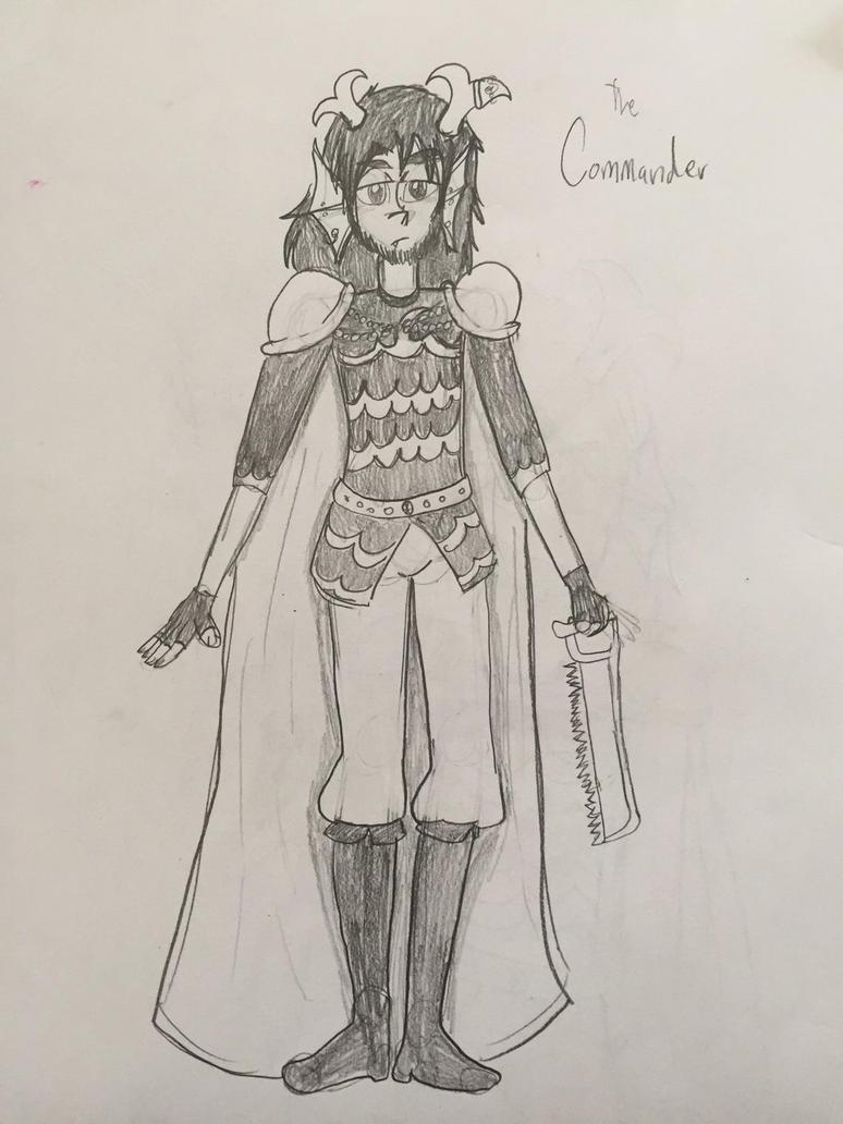 Commander by mischeviousMonarch