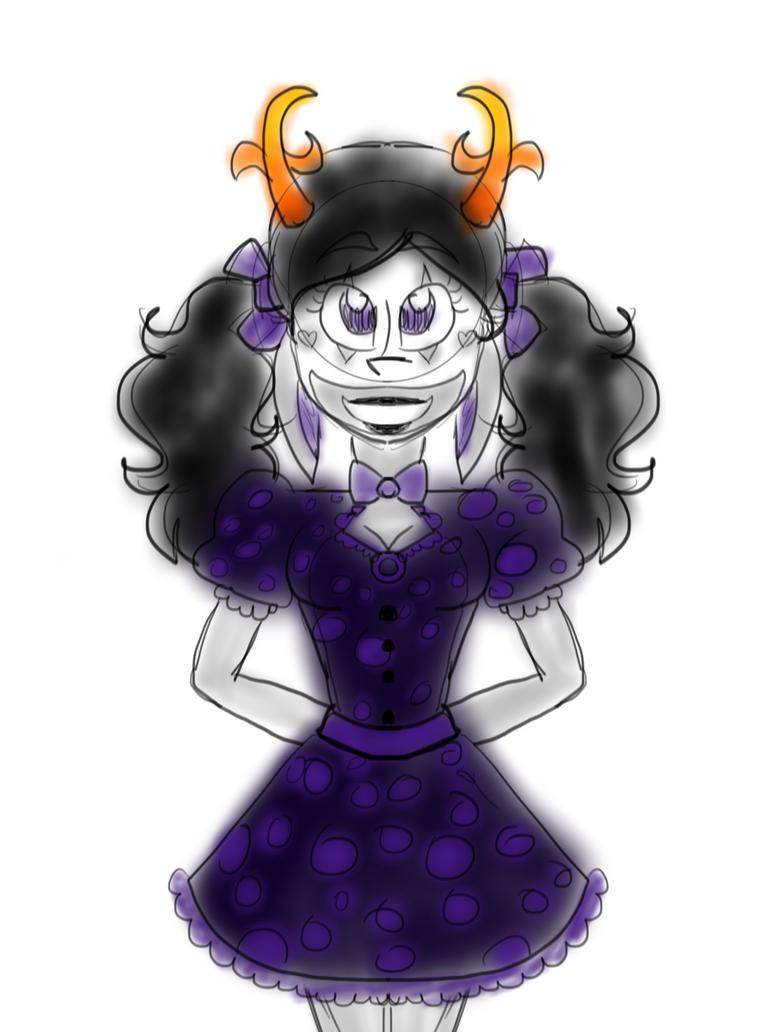 Purpleblood Brista by mischeviousMonarch