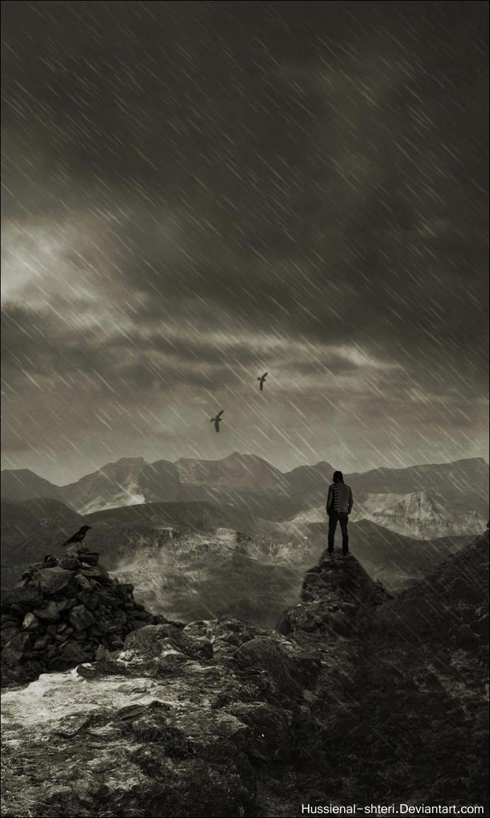 wish to rain by HUSSIENAL-SHTERI