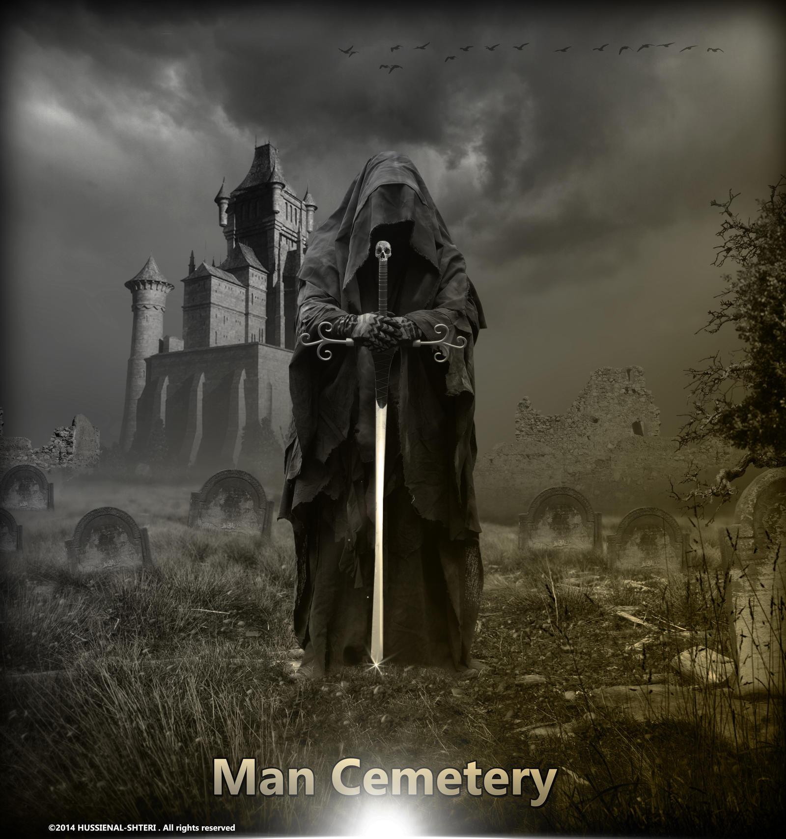 Man Cemetery by HUSSIENAL-SHTERI