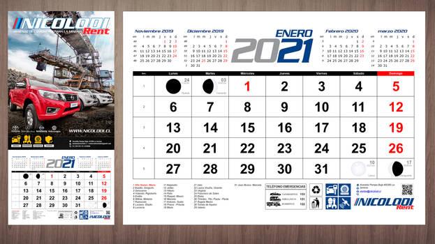 Propuesta Calendario Fisico Nicolodi 2021