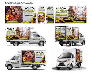 Grafica Vehiculo Agrocanela