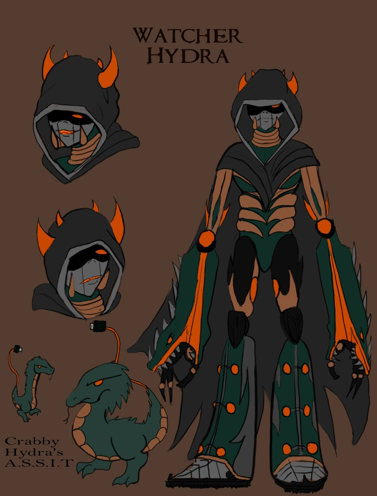 Watcher Hydra concept by Macabrecabra