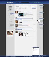 Facebook Re-Design by Linds37