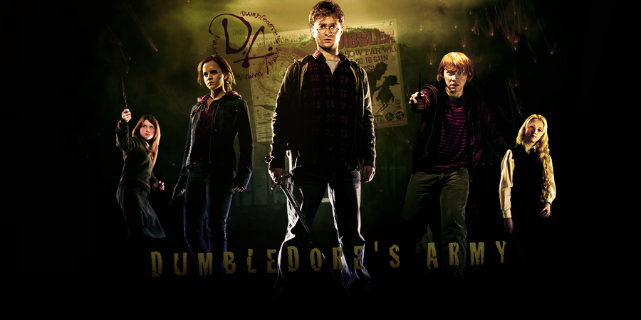 Dumbledore's army by Linds37