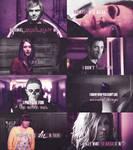 american horror story - purple