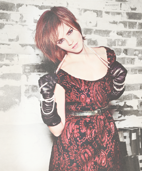 Emma Watson for Glamour by Linds37
