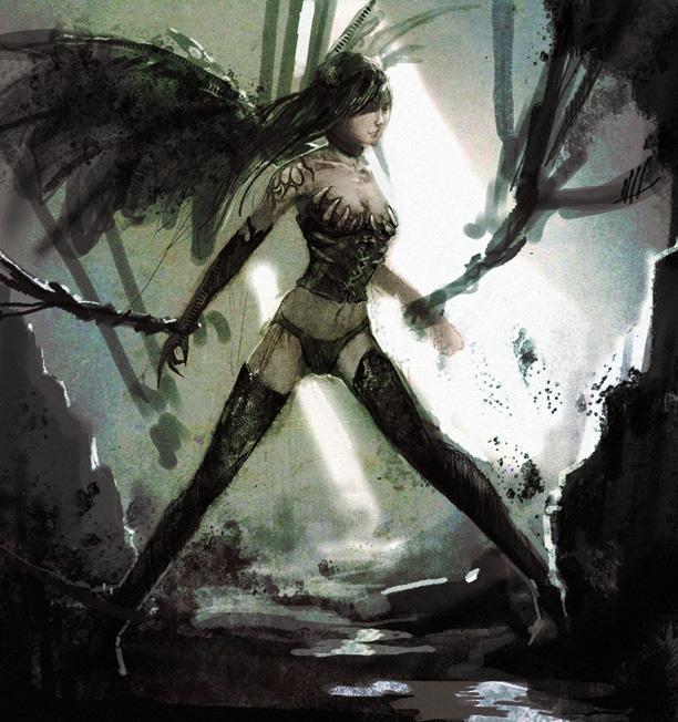 Dragon Warrior by FinalKnight6