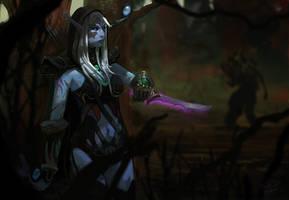 Drow Ranger by FinalKnight6