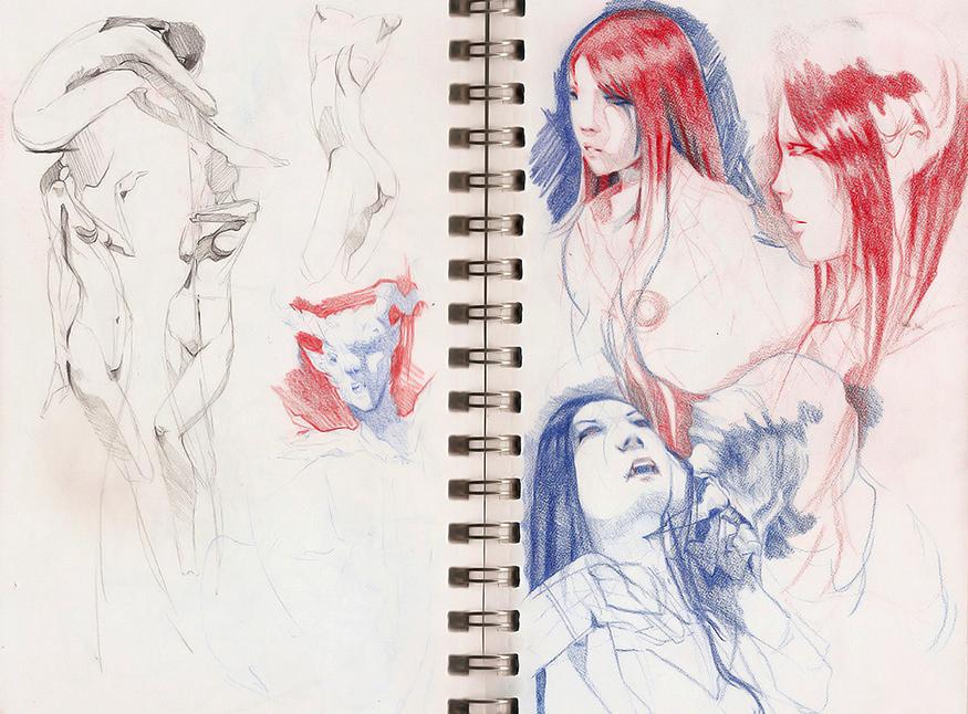 Mitsubishi Pencil by FinalKnight6