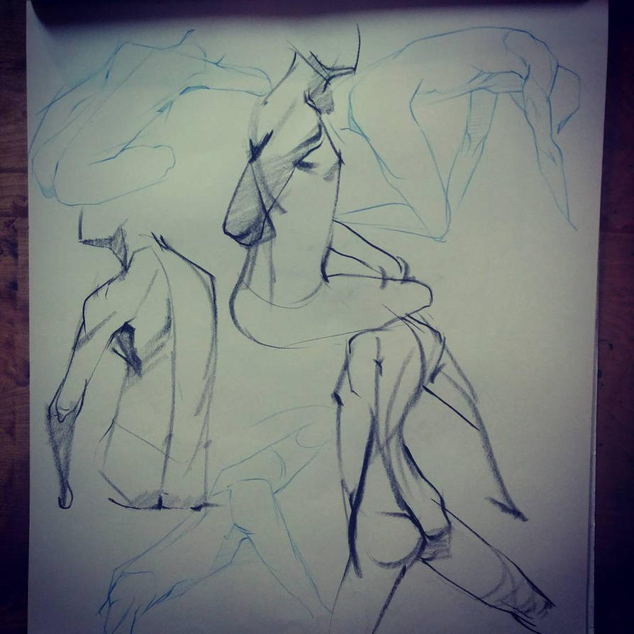 Lifedrawing by FinalKnight6