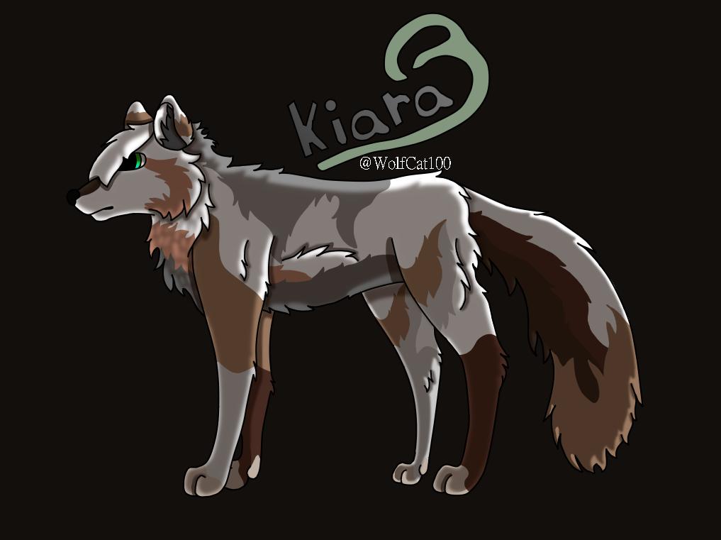 Kiara FINISHED by WolfCat100