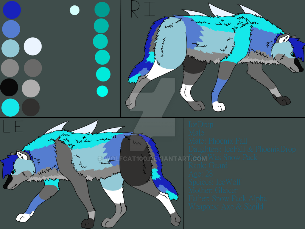IceDrop Profile by WolfCat100