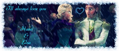 Frozen -Prince Hans And Queen Elsa by xXLovelyKitty15Xx