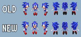 Sonic Spin (Sonic 3 Blast) Remake Sprite