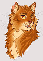 You KNOW it's that lion boy by soggypelts