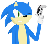 Sonic and his PS4