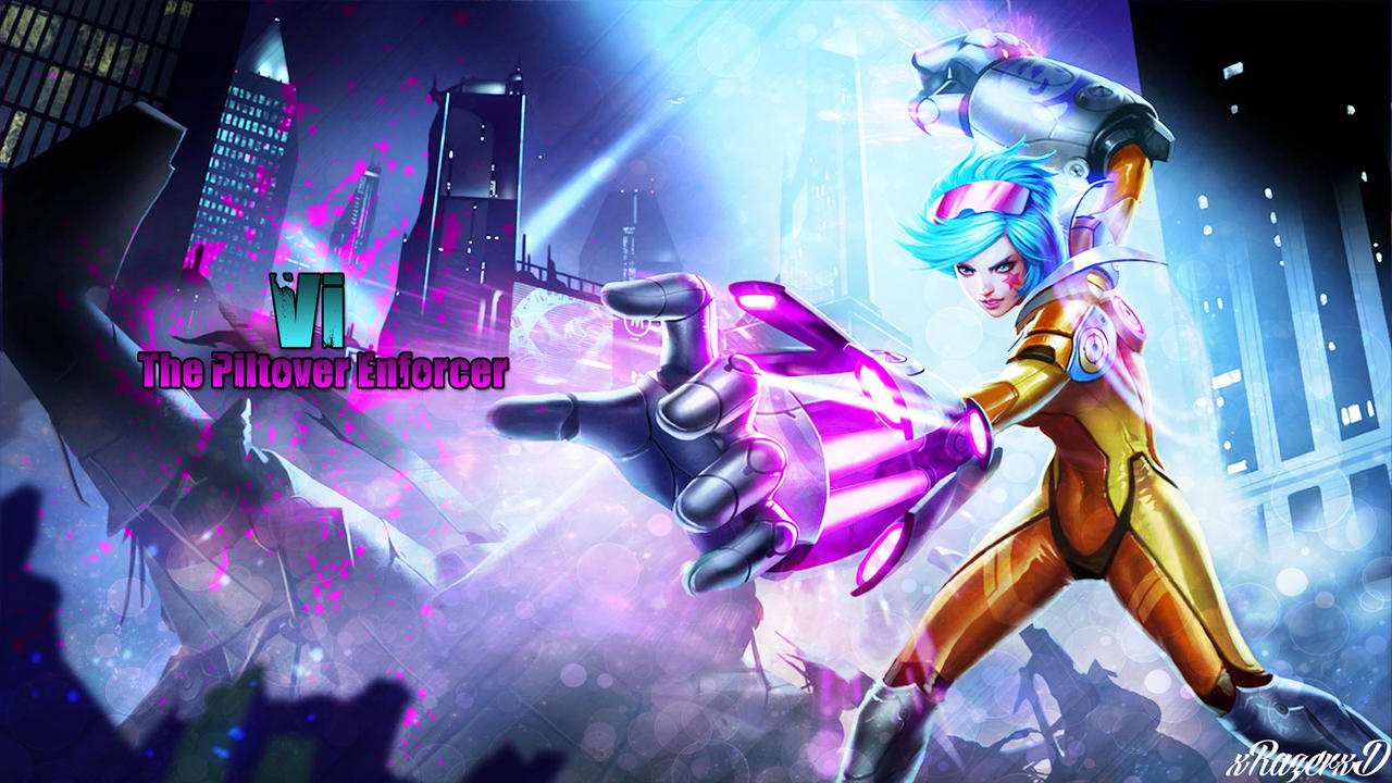 LoL - Neon Strike Vi Wallpaper 2 ~xRazerxD by xRazerxD on ...