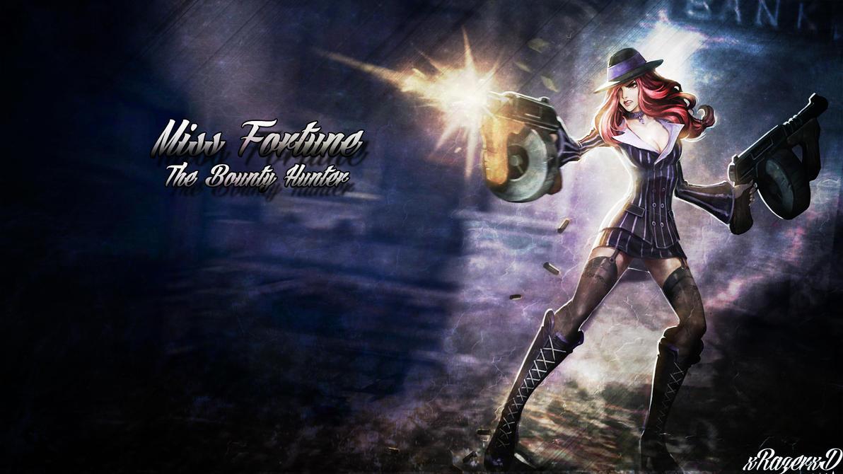 League Of Legends Miss Fortune Wallpaper: Mafia Miss Fortune Wallpaper ~xRazerxD By XRazerxD