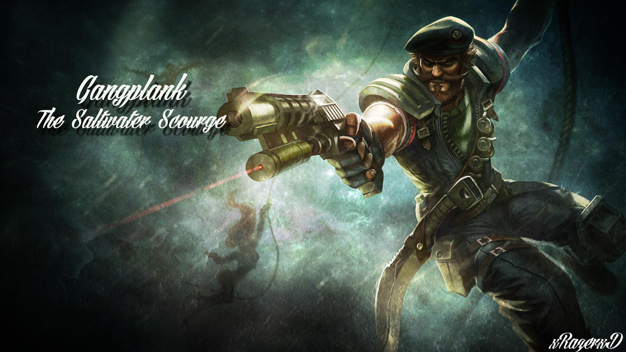 lol special forces gangplank wallpaper xrazerxd by
