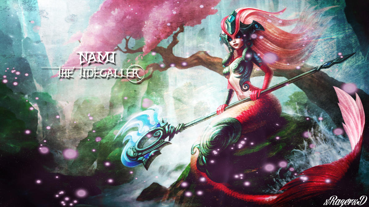 LoL - Koi Nami Wallpaper ~xRazerxD by xRazerxD