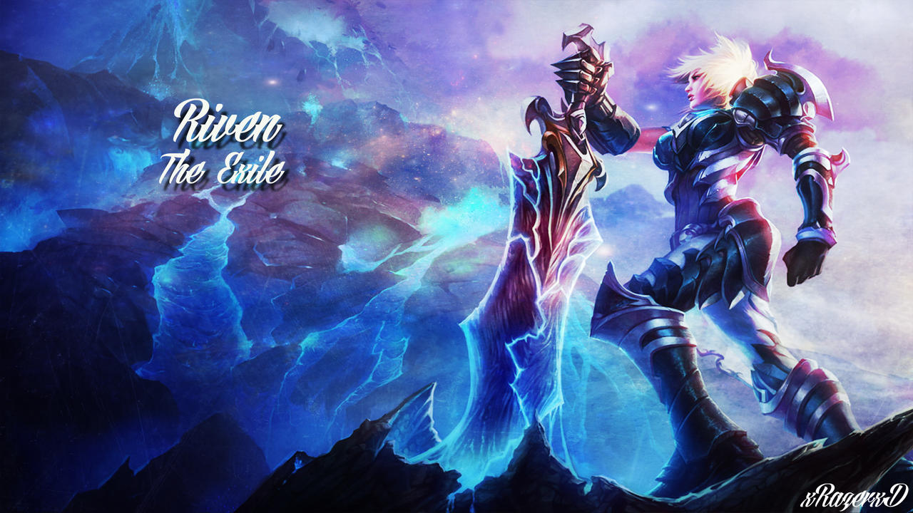 LoL - Championship Riven Wallpaper ~xRazerxD by xRazerxD ...