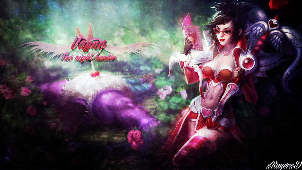LoL - HeartSeeker Vayne Wallpaper ~xRazerxD by xRazerxD on ...