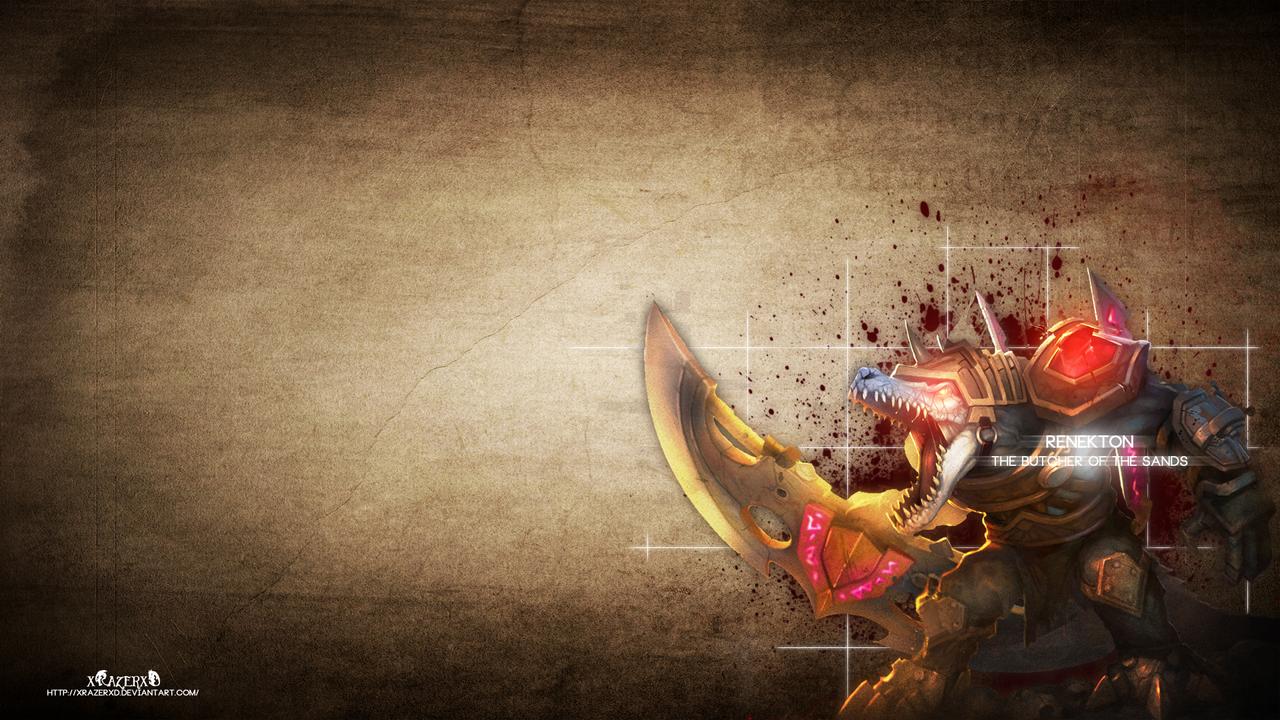 LoL - RuneWars Renekton Wallpaper ~xRazerxD by xRazerxD on ...