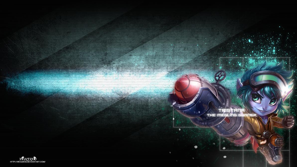 LoL - Rocket Girl Tristana Wallpaper  ~xRazerxD by xRazerxD