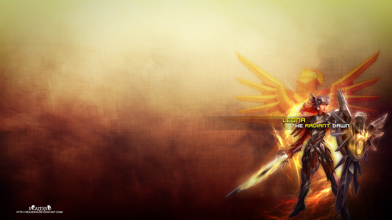 leona wallpaper fan art - photo #11