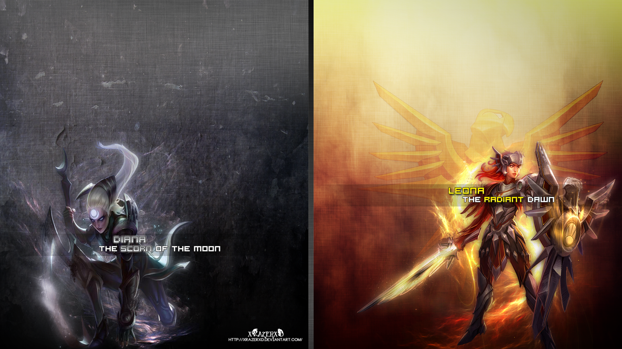 leona wallpaper fan art - photo #25