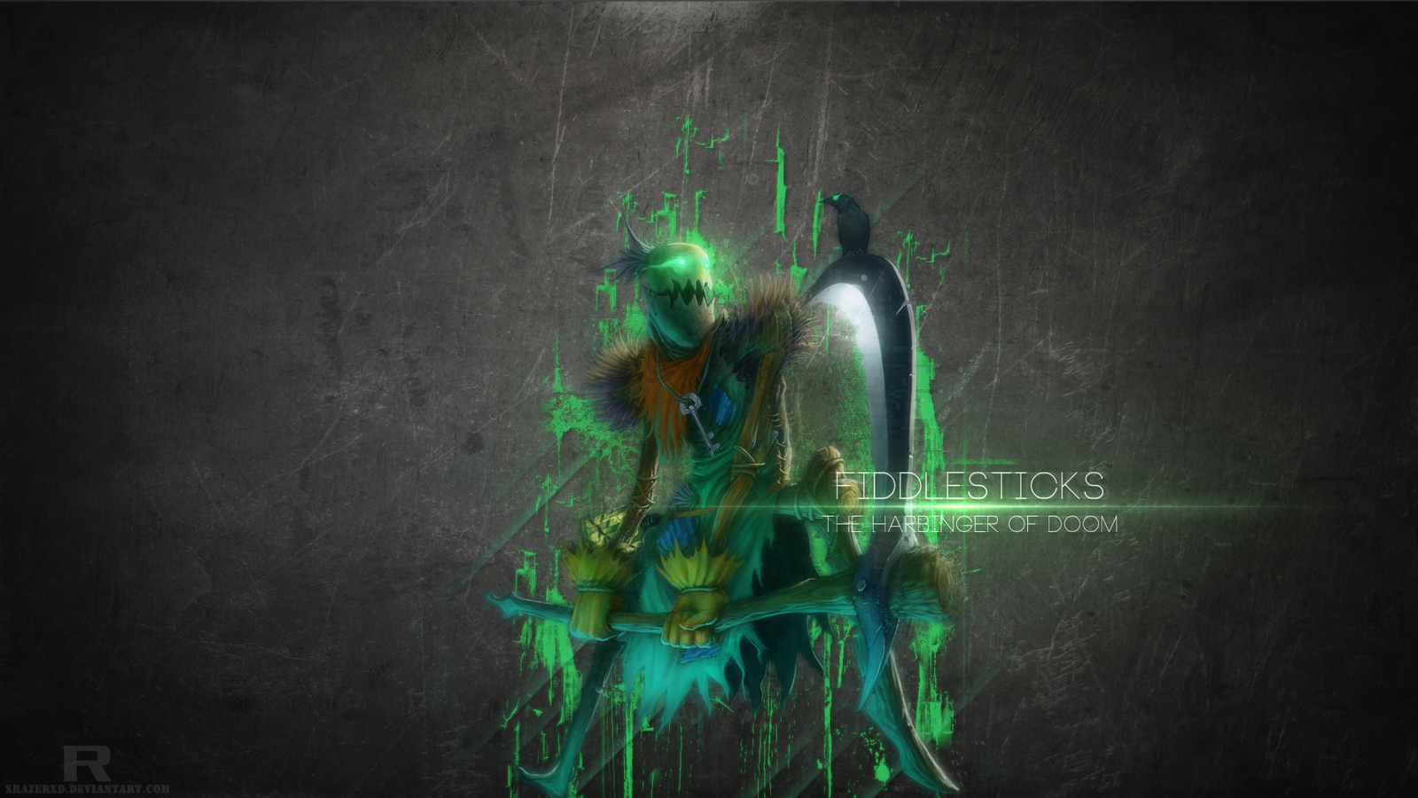League of Legends - Fiddlesticks Wallpaper by xRazerxD on ...