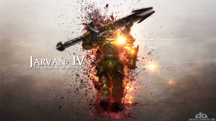 LoL - Commando Jarvan IV Wallpaper HD by xRazerxD