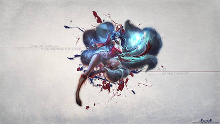LoL - Ahri Season 4 Wallpaper HD by xRazerxD