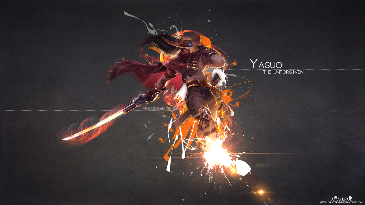 LoL - HighNoon Yasuo Wallpaper HD by xRazerxD on DeviantArt