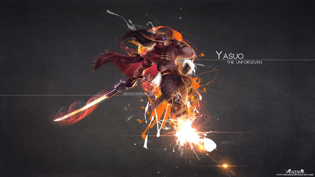 LoL - HighNoon Yasuo Wallpaper HD by xRazerxD on DeviantArt