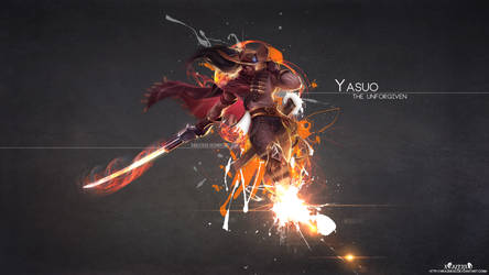 LoL - HighNoon Yasuo Wallpaper HD by xRazerxD