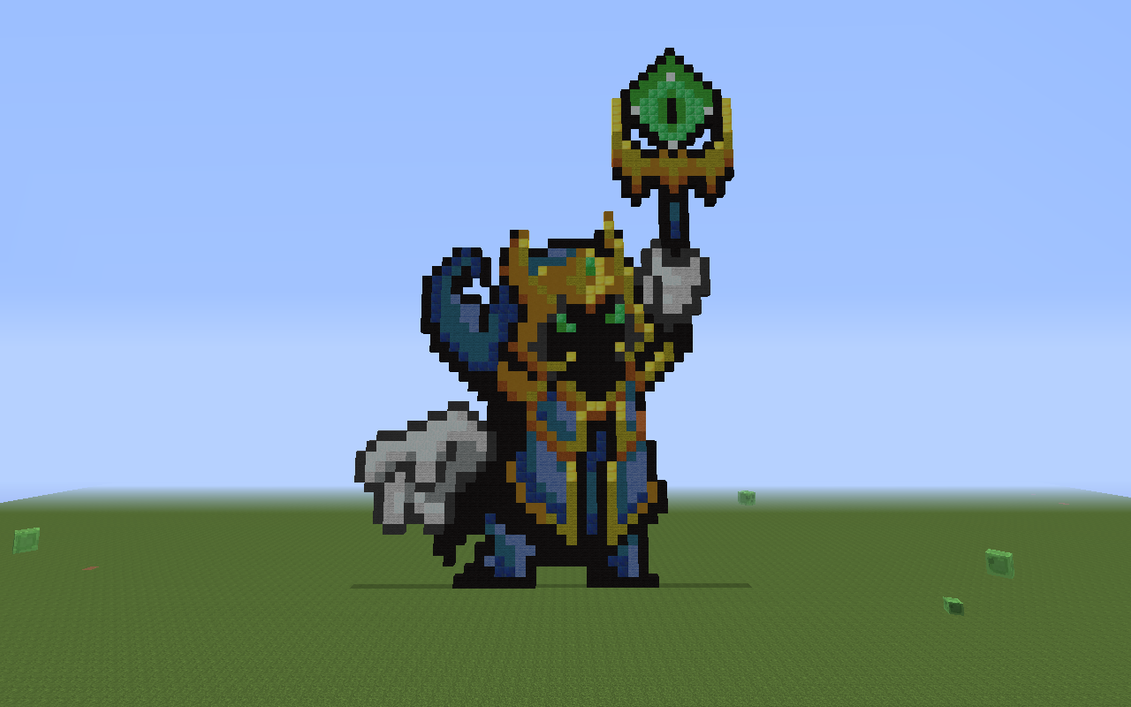 Last Boss Veigar... Minecraft :3 by frecmenta