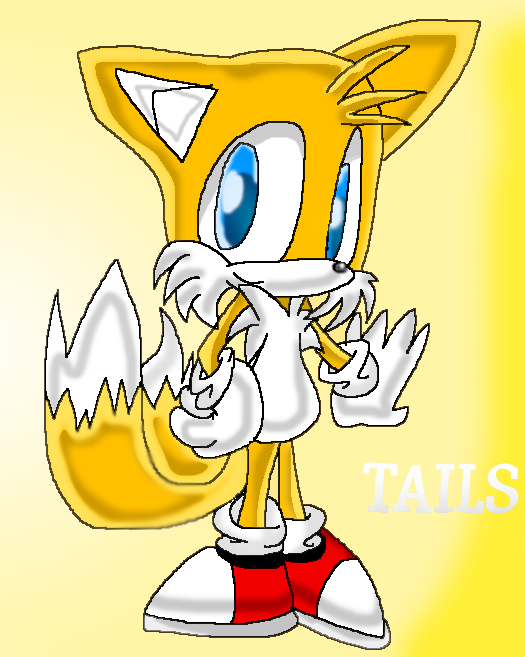 Tails in SA style by ShellyTheFox