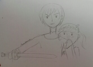 Arren and Cerise by Annanyme