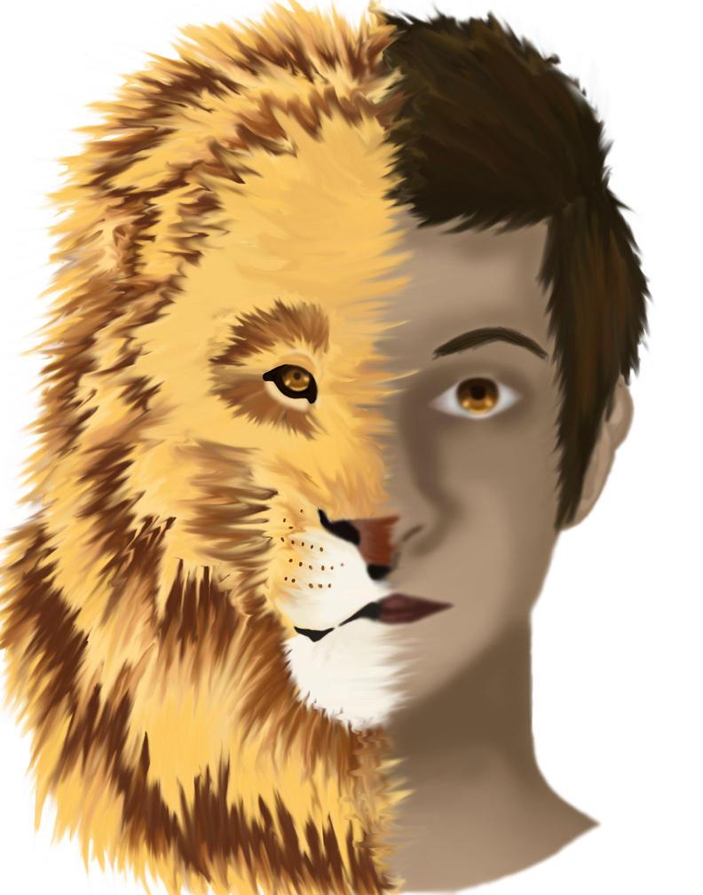 Lion Poster by IAMKATNISS476