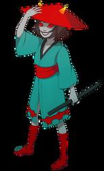 samuraistuck terezi by myotishi